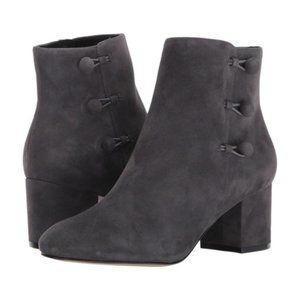 IVANKA TRUMP Parin Button Heeled Ankle Boots New 6